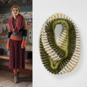 Anthropologie Zene Randa Loop Infinity Scarf